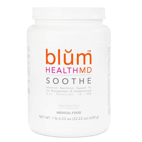 Soothe Protein Powder Blum Health Md