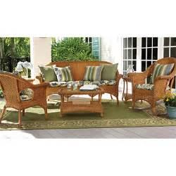 wicker furniture cushions sunbrella 174 tufted willowemoc