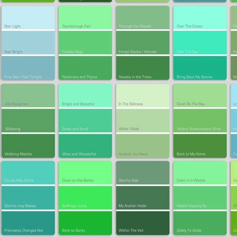 green colors names shade blue to green color search website