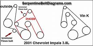 1998 Chevy Malibu Serpentine Belt Diagram