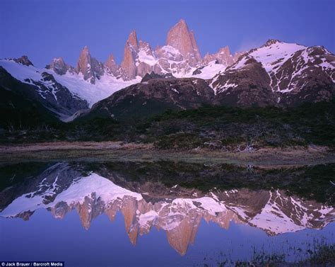 Patagonia Fitz Roy Mountain Range