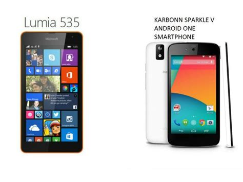 android pour lumia 535 microsoft lumia 535 android one which is the better budget smartphone