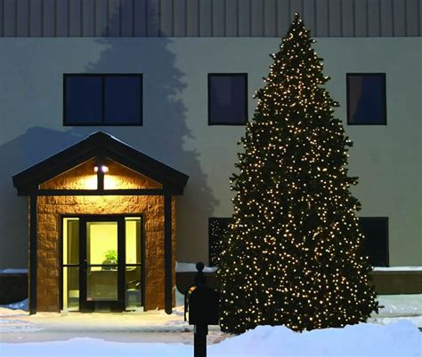 commercial christmas trees holiday decorations