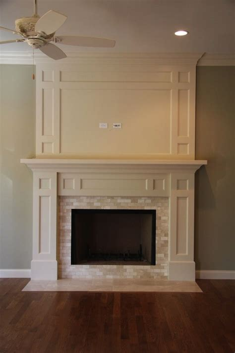 marble fireplace surround traditional living room mhm