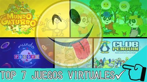 7 Juegos Virtuales Para NiÑos Y NiÑas #1 Youtube