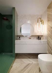 Salle De Bain Marbre Blanc : id e d coration salle de bain petite salle de bain moderne carrelage marbre blanc carrelage ~ Nature-et-papiers.com Idées de Décoration