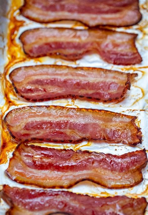 bacon baked oven baking sheet rack easiest recipe sure wire sitting own its use