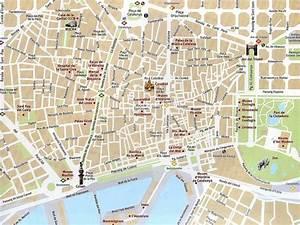 Barcelona City Map Printable Free Printable Maps Map Of