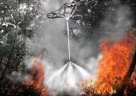 firefighting drones drones