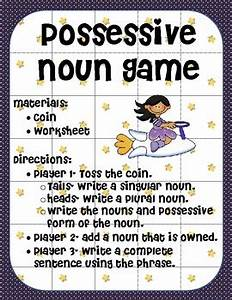 Possessive Nouns Game By Ms Third Grade Teachers Pay