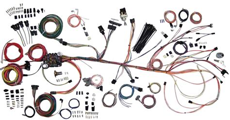 American Auto Wire Wiring Diagram by American Autowire Chevelle Wiring Kit Classic Update Fits