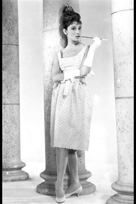 Dress: audrey hepburn, actress, white dress, midi dress