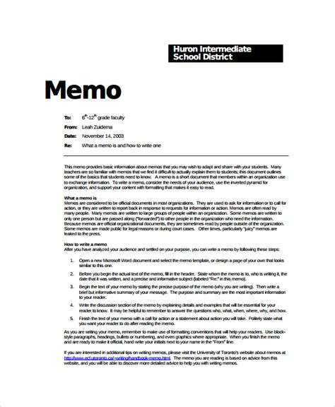 elegant memo template sample formal memo template 7 free documents download
