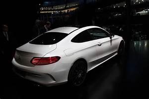 Mercedes Classe C Blanche : mercedes classe c coup so sexy en direct du salon de francfort 2015 ~ Maxctalentgroup.com Avis de Voitures