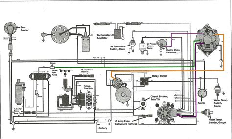 marine electrical wiring diagram wiring diagram with i have a 2003 glastron 4 3 volvo penta i put a new battery