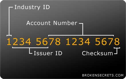 meaning   digits   credit card broken secrets