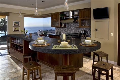 kitchen island as dining table dining room table arrangement