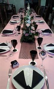 Deco Table Anniversaire Femme : decoration de table 50 ans ~ Melissatoandfro.com Idées de Décoration
