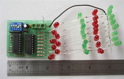 Pic Led Flasher Kit Electronic Kits