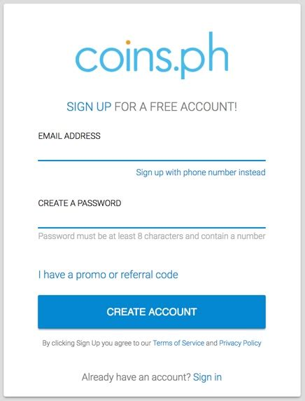 Bitcoin Account Sign Up by How Do I Get Bitcoin Coins Ph Help Center