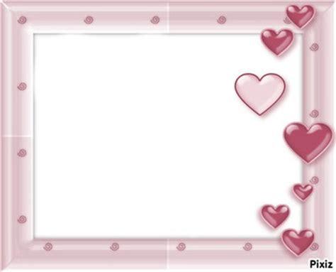 montage photo cadre avec 2 coeur pixiz