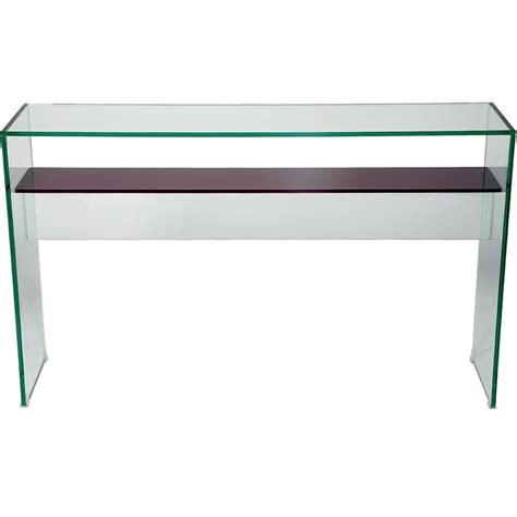 glass console table with shelf helderr beljo console table with coloured glass shelf