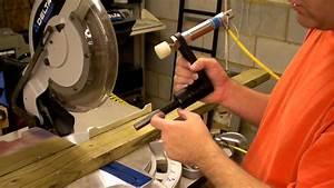 Homemade DIY Chop Saw Pneumatic Clamp - WidgetWerks com
