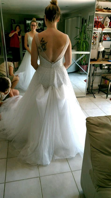 Bustle On Tulle Dress Show Me Yours