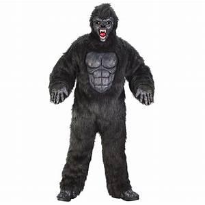 Gorilla Size Chart Men 39 S Gorilla Suit Costume