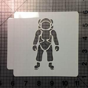 Astronaut Stencil 101