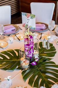 Deco Table Tropical : best 25 hawaiian centerpieces ideas on pinterest tropical centerpieces luau table ~ Teatrodelosmanantiales.com Idées de Décoration