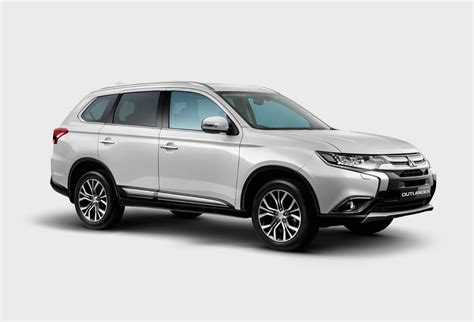 mitsubishi introduces enhanced outlander suv priced at