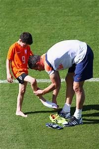 Shaqueel van Persie in Netherlands Training & Press ...