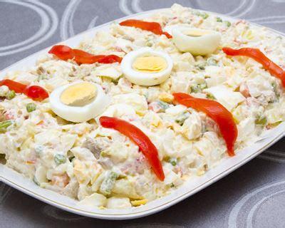 cuisine facile et originale recette ensaladilla salade de pommes de terre à l 39 espagnole
