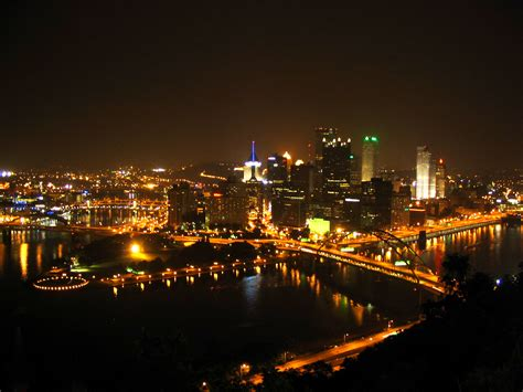 pittsburgh  night wallpaper gallery