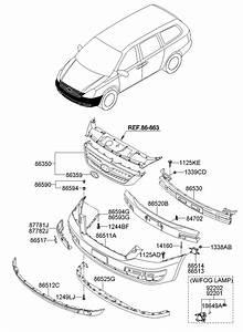 2007 Hyundai Entourage Bulb - Halogen  Projection  Reflex  Smarker