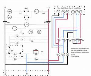 3 Phase Delta Motor Windings Diagram Wiring Schematic