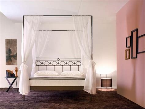 letto a baldacchino in ferro battuto letto baldacchino divina vendita on line di lettiin