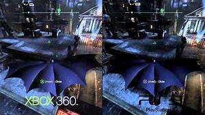 Batman Arkham City PS3 Vs Xbox 360 Gameplay YouTube