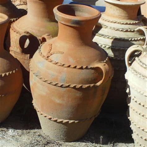 jarre en terre cuite avec deux anses artisanat marocain