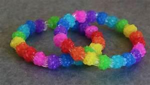 Rainbow Loom™ MonsterTail™ Gumdrop II Bracelet Tutorial ...