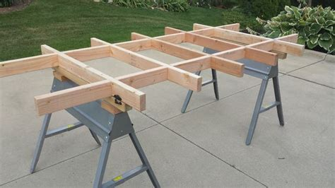 simple plywood cutting table work table updated