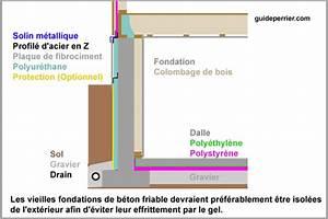 Isolation Mur Intérieur Polyuréthane : polyur thanne pulv ris isolation efficace des fondations ~ Melissatoandfro.com Idées de Décoration