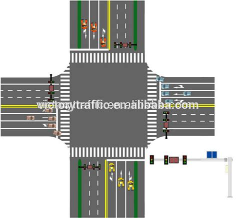 traffic light controller solar wireless traffic system intersection traffic