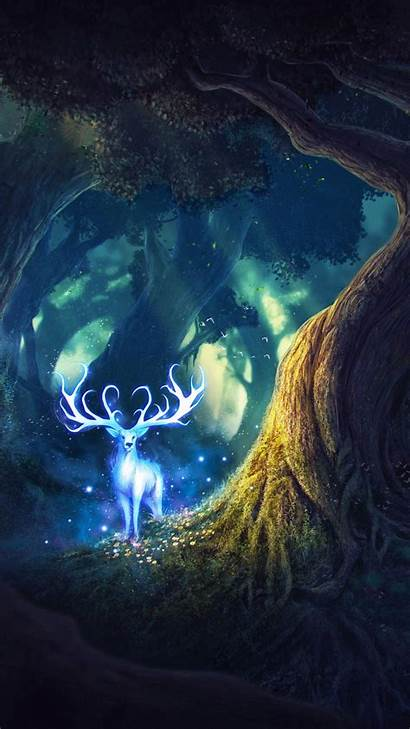 4k Fairy Deer Wallpapers 1920 Android 1440