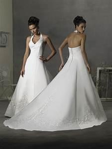 attractive style of halter beckline dresses wedding planning With halter neck wedding dress