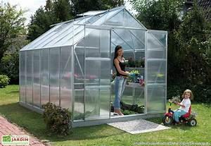Serre Adossée Bois : serre de jardin polycarbonate uranus 8300 massette lams ~ Melissatoandfro.com Idées de Décoration
