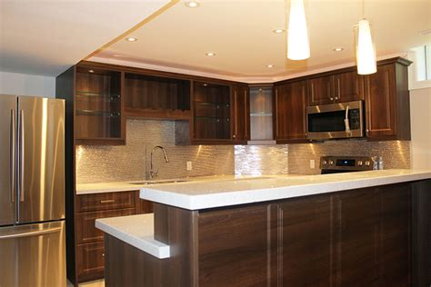 toronto  thornhill custom modern kitchen design