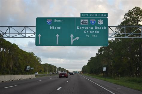 interstate  south volusia county aaroads florida