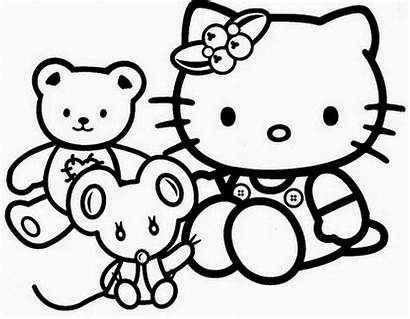 Kitty Hello Coloring Internet